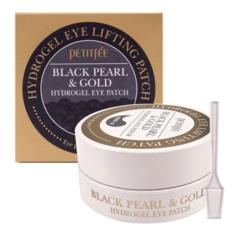 Гидрогелевые патчи для глаз Petitfee Black Pearl & Gold Hydrogel Eye Patch