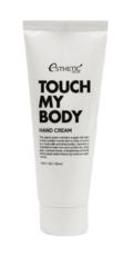 Увлажняющий крем для рук с козьим молоком Esthetic House Touch My Body Goat Milk Hand Cream