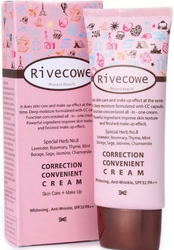 Корректирующий СС крем RIVECOWE Beyond Beauty Correction Convenient Cream SPF 43 РА+++