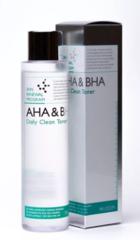Тоник-пилинг с фруктовыми кислотами Mizon AHA & BHA Daily Clean Toner