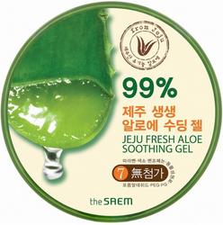 Средство с алоэ The Saem Jeju Fresh Aloe Soothing Gel