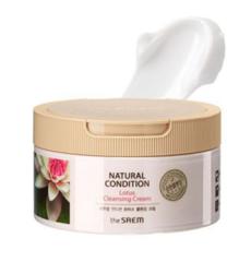 Очищающий крем The Saem Natural Condition Lotus Cleansing Cream