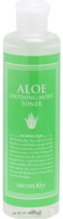 Secret Key Натуральный увлажняющий тонер с 98% экстрактом алоэ вера Aloe Soothing Moist Ton