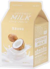 Увлажняющая тканевая маска с экстрактом кокоса Coconut Milk One-Pack