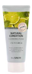Пенка для умывания The Saem Natural Condition Cleansing Foam Sebum controling