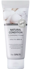 Пенка - скраб для умывания The Saem Natural Condition Cleansing Foam Deep pore cleansing