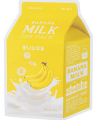 A'PIEU Тканевая маска с экстрактом банана Banana Milk One-Pack