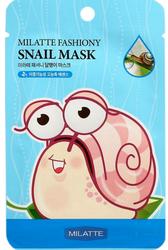 Маска тканевая с экстрактом слизи улитки Fashiony Snail Mask Sheet