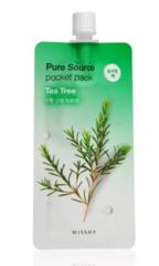 Ночная маска для лица MISSHA Pure Source Pocket Pack (Tea Tree)