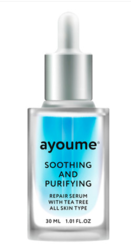 Сыворотка для лица успокаивающая AYOUME Tea Tree Soothing & Purifying Serum