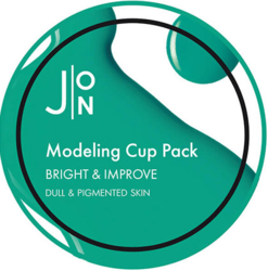 Альгинатная маска для осветления и улучшения кожи Modeling Pack Bright & Improve Cup