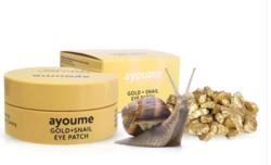 Антивозрастные патчи для глаз AYOUME Gold+Snail Eye Patch