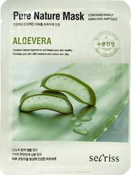 Тканевая маска с экстрактом алоэ Pure Nature Mask Pack Aloe Vera Написать отзыв