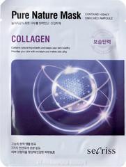 Тканевая маска с коллагеном Pure Nature Mask Pack Collagen
