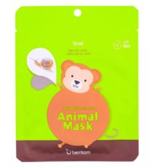 Тканевые маски Berrisom Animal Mask Monkey