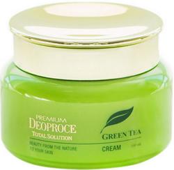 Крем с экстрактом зеленого чая Premium Green Tea Total Solution Cream