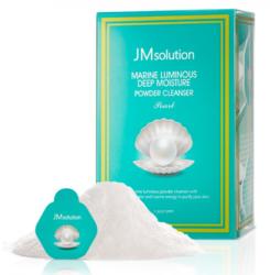 Энзимная пудра с жемчугом JM Solution Marine Luminous Deep Moisture Powder Cleanser Pearl