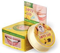 Круглая отбеливающая зубная паста 5 STAR с экстрактом манго