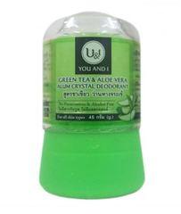 Дезодорант кристаллический с зеленым чаем и алоэ вера 45 и 80 гр