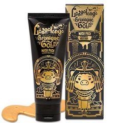 Маска-пленка золотая Hell-pore Longolongo Gronique Gold Mask Pack