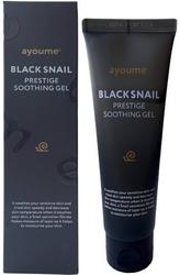 Успокаивающий гель для лица с муцином чёрной улитки AYOUME Black Snail Prestige Soothing Gel