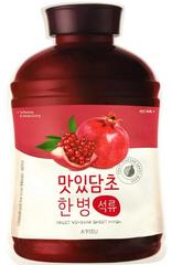 A'Pieu Увлажняющая тканевая маска с экстрактом граната Fruit Vinegar Sheet Mask Pomegranate