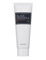 Маска-пленка от черных точек MISSHA Black Ghassoul Peel-Off Nose Pack