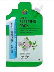 Ночная маска с экстрактами трав (мини-версия) EYENLIP Pocket Herb Sleeping Pack