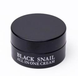 Многофункциональный крем с муцином чёрной улитки (миниатюра) EYENLIP Black Snail All In One Cream