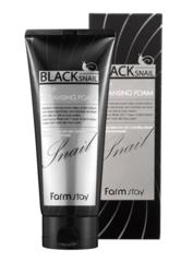 Пенка для лица FarmStay Black Snail Deep Cleansing Foam