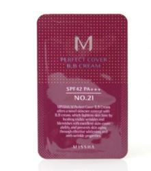 Пробник, ББ крем MISSHA M Perfect Cover BB Cream SPF42/PA+++