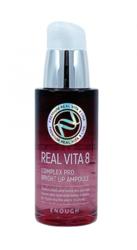 Сыворотка c облепихой для сияния кожи Enough Real Vita 8 Complex Pro Bright Up Ampoule