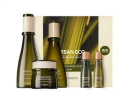 Набор средства для лица с корнем новозеландского льна THE SAEM Urban Eco Harakeke Root Skin Care 3 Set
