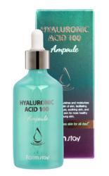 Увлажняющая сыворотка с гиалуроновой кислотой FarmStay Hyaluronic Acid 100 Ampoule