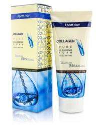 Пенка для лица FarmStay Collagen Pure Cleansing Foam