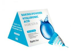 Скраб для лица с гиалуроновой кислотой FARMSTAY Baking Powder Hyaluronic Acid Pore Scrub