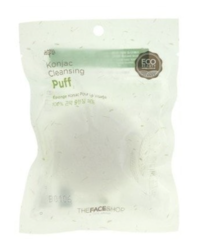 Спонж конняку THE FACE SHOP Konjac Cleansing Puff