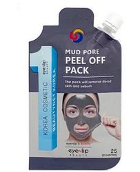 Eyenlip Pocket маска-пленка очищающая mud pore peel off pack