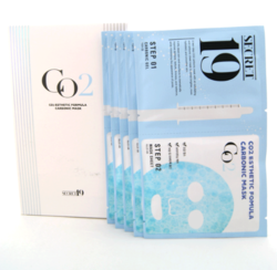 Набор для карбокситерапии Esthetic House Secret19 CO2 Esthetic Formula Carbonic Mask