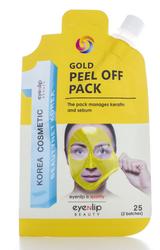 Eyenlip Pocket маска-пленка очищающая gold peel off pack