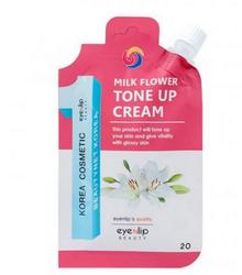 Eyenlip Pocket крем для лица осветляющий milk flower tone up cream