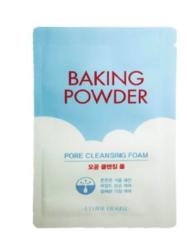 Пенка с содой для умывания ETUDE HOUSE Baking Powder Pore Cleansing Foam пробник