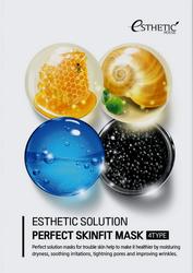 Набор тканевых масок, пропитанных косметической эссенцией ESTHETIC SOLUTION PERFECT SKINFIT MASK 4TYPE