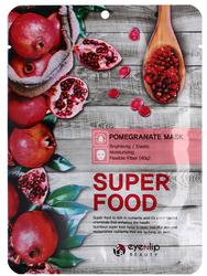 Маска для лица тканевая Eyenlip Super Food Pomegranate Mask