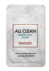 Глиняная пенка для глубокого очищения пор HEIMISH All Clean White Clay Foam пробник