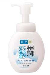 Пенка для умывания с гиалуроновой кислотой HADA LABO Gokujyun Super Hyaluronic Acid Foaming Wash