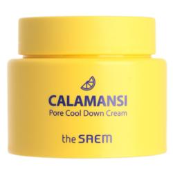 Крем для лица поросужающий охлаждающий THE SAEM CALAMANSI PORE COOL DOWN CREAM